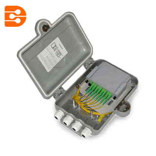 8 Cores SMC Fiber Optic Distribution Box