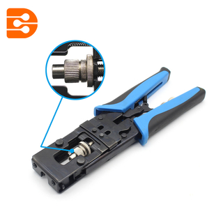 Crimping Tool For Crimping F BNC RCA Connectors