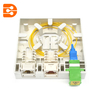 SC & LC + RJ45 Fiber Optic Hybrid Socket