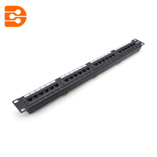 19 Inch 24 Ports Cat.6 UTP Patch Panel