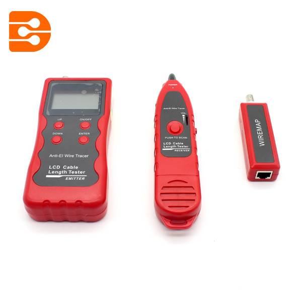 LCD Network Cable Length Tester