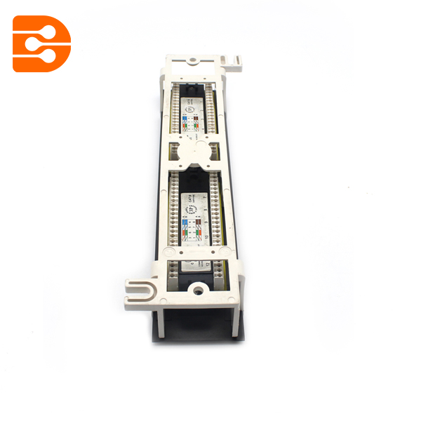 10 Inch 12 Ports Cat.6 Wall Mount Patch Panel