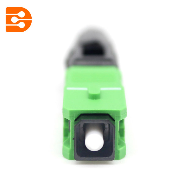 SC APC Mechanical Fiber Optic Connector
