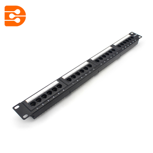 Cat.5e UTP 24 Ports Patch Panel