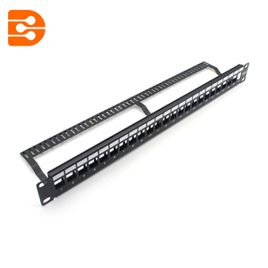 24 Ports UTP High-Density Blank Patch Panel