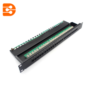 25 Ports Cat.3 Voice Patch Panel 1U