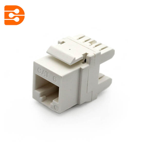 CAT 6 High Density Keystone Jack 180 Degree