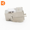 Toolless CAT 6A Shielded Keystone Jack 180 Degree