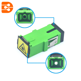 SC/APC Adapter with Flip Auto Shutter