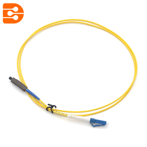 Simplex LC/UPC to MU/UPC SM Fiber Optic Patch Cord