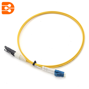 Duplex LC/UPC to VF45 SM Fiber Optic Patch Cord