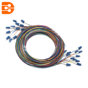 LC/UPC 12 Fibers OS2 SM Fiber Optic Pigtail