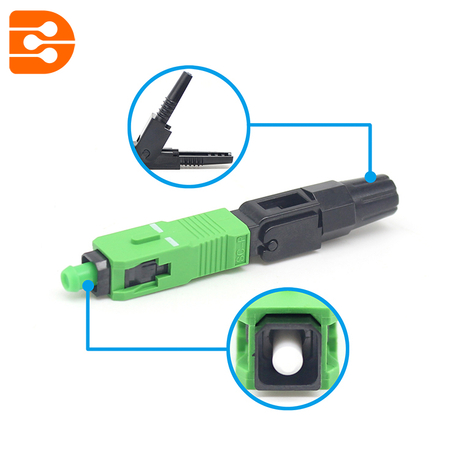 SC/APC Mechanical Fiber Optic Connector