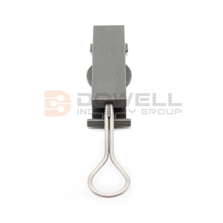 DW-1049-B Excellent Exquisite Plastic Clamp Fiber Optic Cable Drop Wire Clamp for Telecom Cable