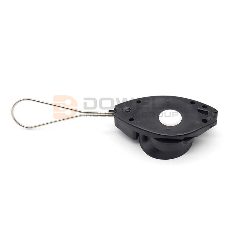 DW-1074 FTTH Drop Wire Cable Suspension Clamp Fish Anchoring Clamp