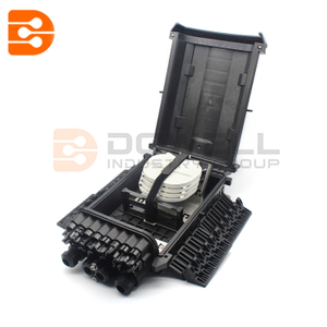 FTTH Drop Cable Type Fiber Optic Splice & Splitter Closure
