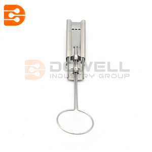 Small Stainless Steel Drop Wire Clamp For Telecom Cable
