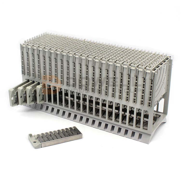 DW-6004 Professional Excellent Exquisite SGS Approved MDF 100 Pairs 100 Pair Terminal Block
