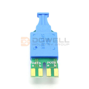 DW-147 Hot Sale Exquisite ADSL POTS Splitter Vdsl Splitter Vdsl Filter
