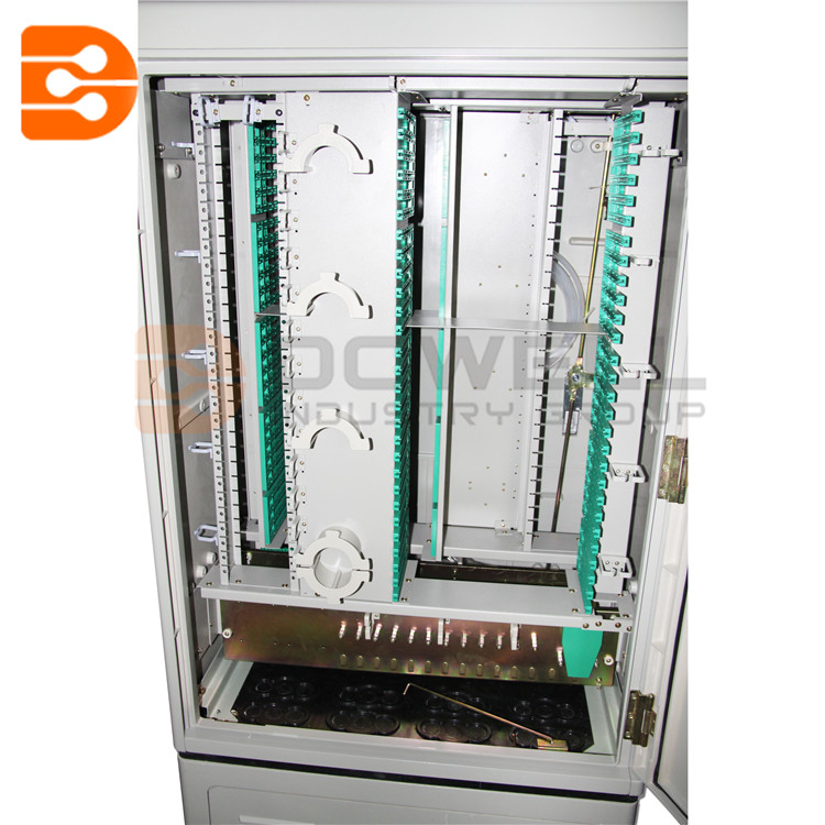 288 Cores Waterproof SMC Fiber Distribution Hub/Outdoor Cabinet