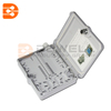 DW-1209 Outdoor FTTH Distribution Terminal Box , 12 Core Fiber Optic Wall Box