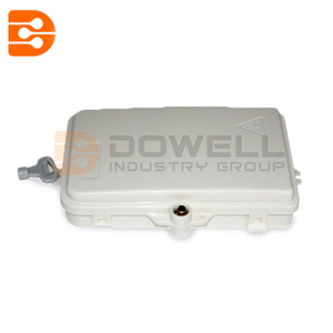DW-1204 Waterproof FTTH Termination Box 4 Core Wall Mount Fiber Termination Box