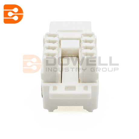 Category 6 110 punch down styles telecom modular jacks