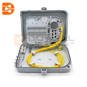 FDB FTTH 24 Core White Fiber Optic Termination Box with Gland