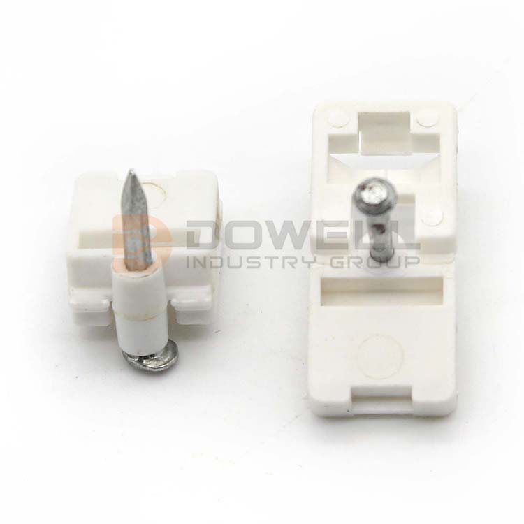 DW-1062 Trade Assured Eco-Friendly Stainless Steel 1 Or 2 Nails Drop Wire Cable Clip