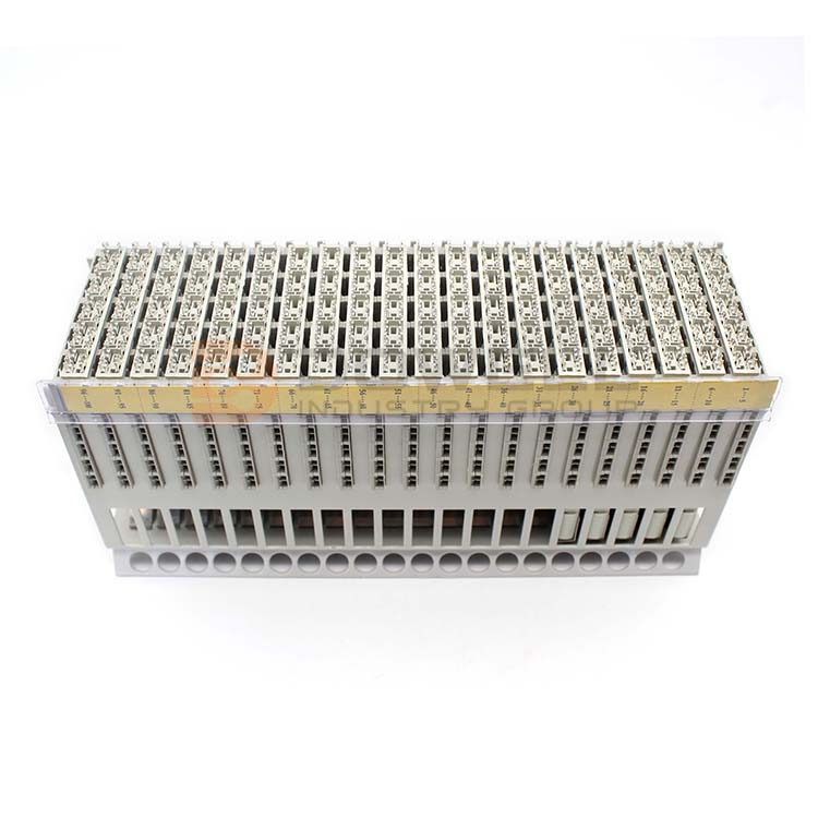 DW-6004 Professional Exquisite SGS Approved MDF 100 Pairs Telephone Electric Terminal Block