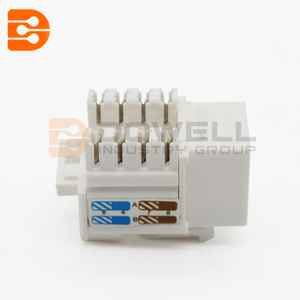 CAT6 Keystone Jack 90 Degree 110 UTP
