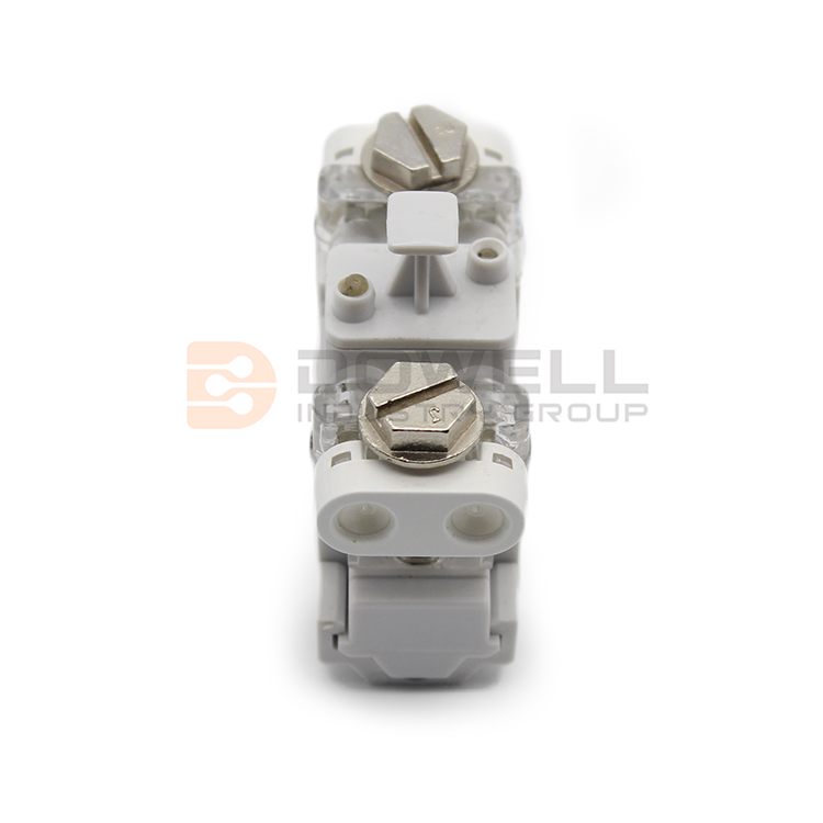 DW-5027 Single Pair Drop Wire Subscriber Terminal Block Without Protection