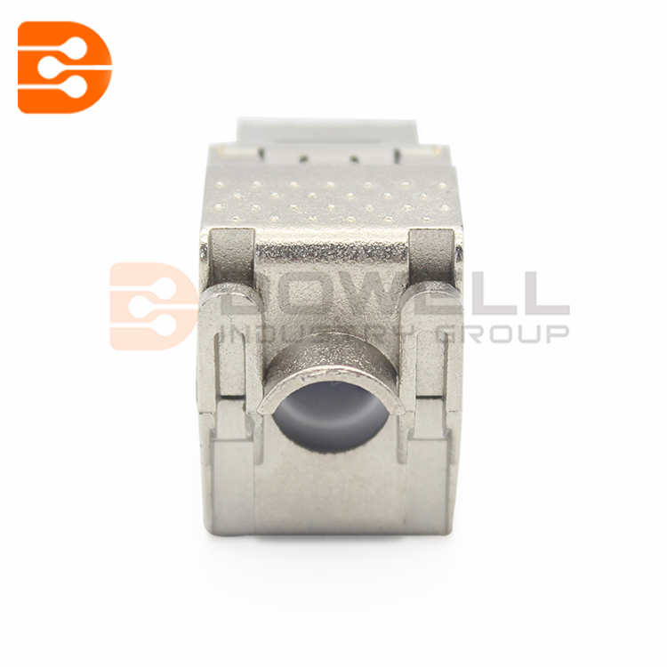 Cat6a RJ45 110 Type Toolless Shielded Keystone Jack