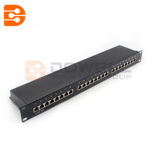 Cat5e Shielded 24 Port Ftp Patch Panel