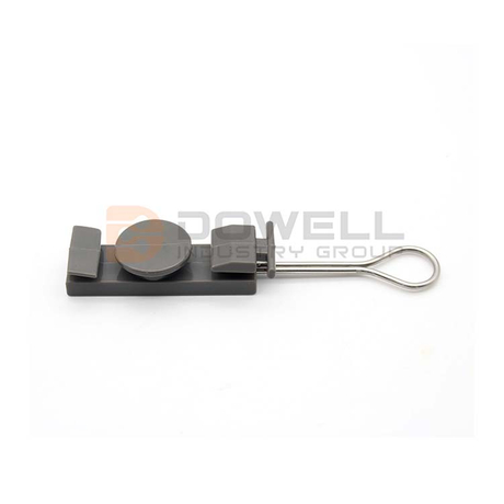 DW-1049 Cheap Great Material FTTH Cabling Accessory Ftth Drop Fiber Optic Cable Clamp