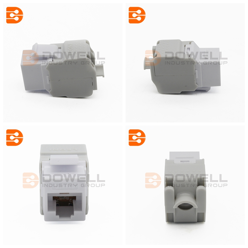 Cat 6A Component Level STP Toolless Type Keystone Jack