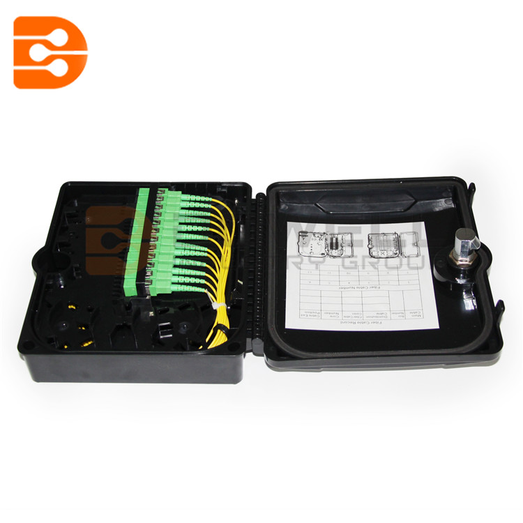 DW-1210 Outdoor 12 Core FTTH Fiber Optic Distribution Box