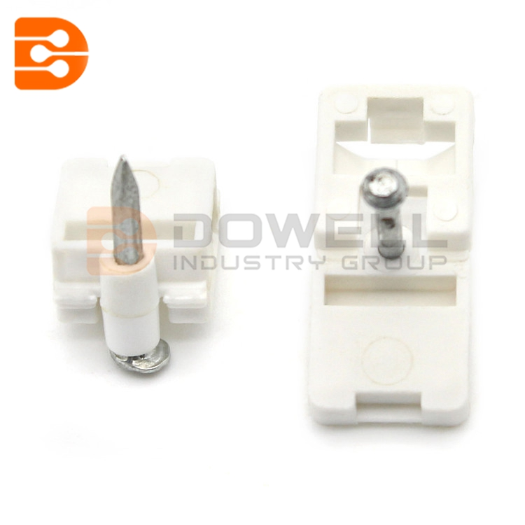 DW-1062 Trade Assured CE Approved FTTH Cabling Accessory PP Fiber Optical Cable Clip