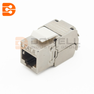 CAT6 Keystone Jacks for a CAT6 Ethernet Network