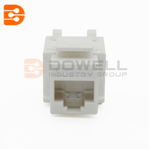 Cat6 110 Style Punch Down Keystone Jack 90 Degree
