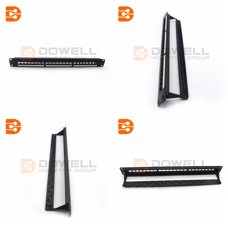 High Quality 24-Port Blank Keystone Patch Panel