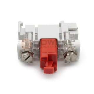 DW-5028 CE SGS Certification PC Housing 1 Pair Drop Wire Conector VX Module With GDT Protection